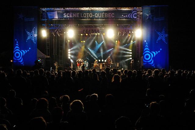 Plume Latraverse au FestiBlues d'Ahuntsic