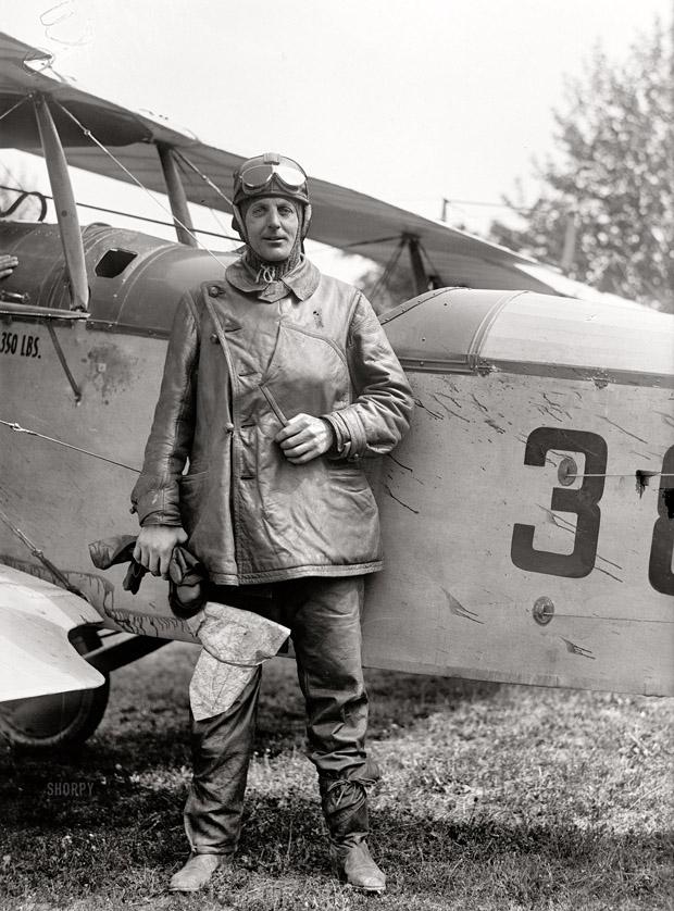 rh fleet airmail pilot 1918