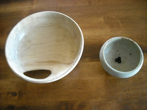 bowls made by my dad