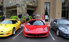 Ferrari 458 Italia (Monkey Wrench Media) Tags: new blue red arizona italy baby black yellow silver italia convertible mini ferrari headlights front led f enzo leds headlight scottsdale callaway coupe maranello intake b2k 550 f550 berlinetta 550m 458 inlets f458 worldcars carsandcoffee aerobody babyenzo minienzo