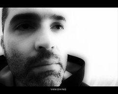 VANISHING... (jose_abc) Tags: light bw white man black reflection eye love night canon freedom blackwhite moments solitude alone loneliness child heart lumire nowhere picture free oeil amour forgotten libert lumiere lonely 365 reflexion nuit glance libre homme feelings orton nostalgie esprit regard seul sentiments nullepart