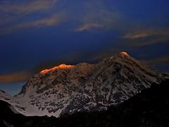 It paints on..... (Lopamudra!) Tags: india mountain color colour sunshine sunrise dawn twilight peak himalaya highaltitude morn garhwal lopamudra chowkhamba satopant