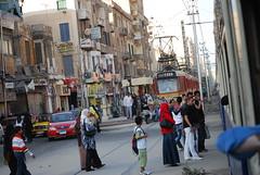 Iskandariyah tram 11 (xrispixels) Tags: alexandria trolley egypt tram streetcar bahn tramway gypten egypte strassenbahn  tranvia tranva gypte aegypten  stadtbahn alexandrie  strasenbahn   alexandri
