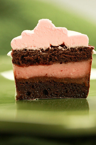 ice cream cupcake cross section