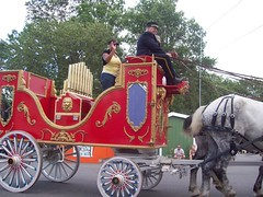 Erie County Fair: Calliope wagon