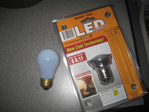 40 watt incandescent refridgerator bulbs are stupid
