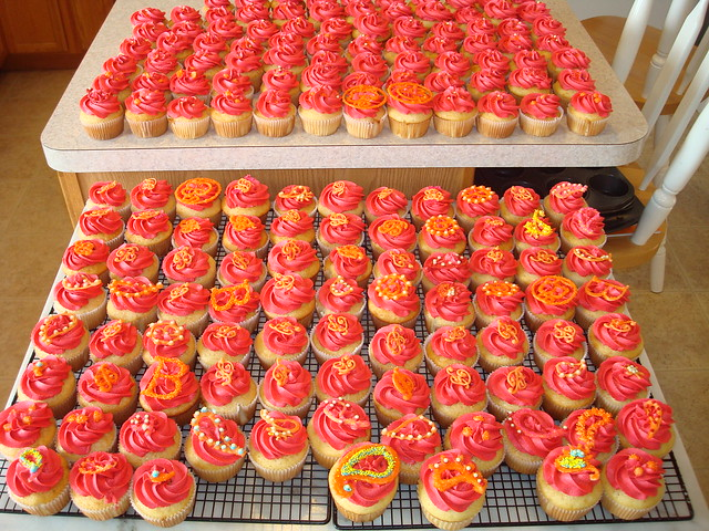 Steph's Wedding Cupcakes