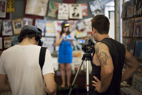 Crash Boom Bang Theatre Short Shorts Filming