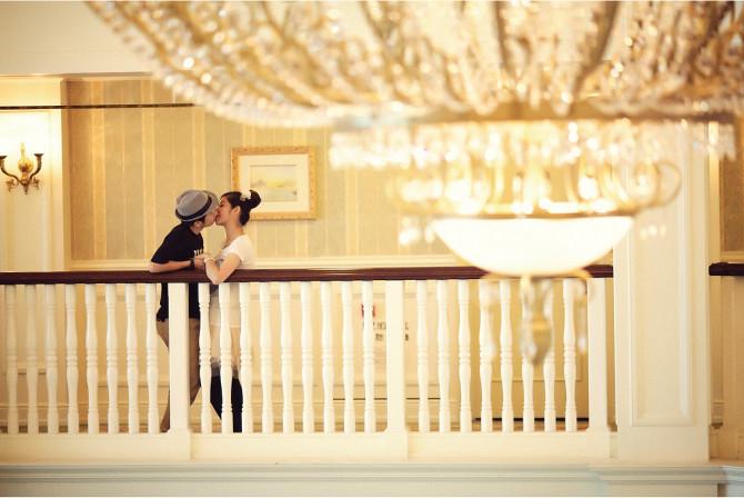 Disney hotel pre-wedding