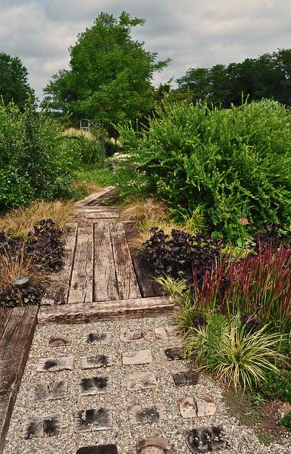 Railroad Tie Pathway 2
