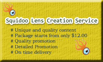Squidoo Lens Creation Service Button