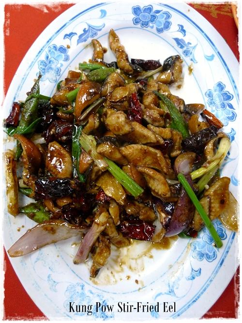 Kung Pow Eel