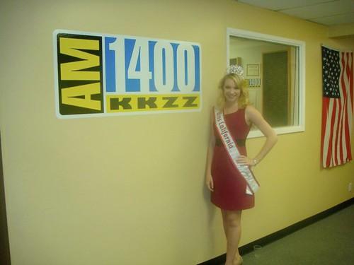 NAM Miss CA Amanda Starrantino Radio Station