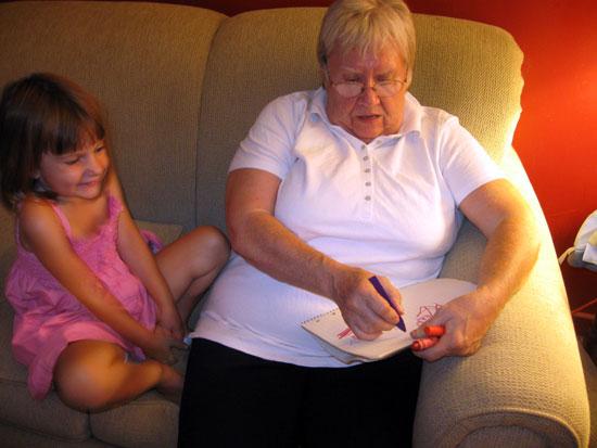 Art Time with Grandma