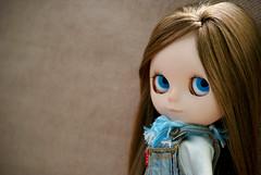 Lana  (Bruna Lacrout ) Tags: lana doll blueeyes blythe brunette custom leno poupe rbl urbancowgirl ucg takaratomy ttya sonya230