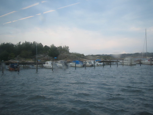 tiny harbor in the archipelago