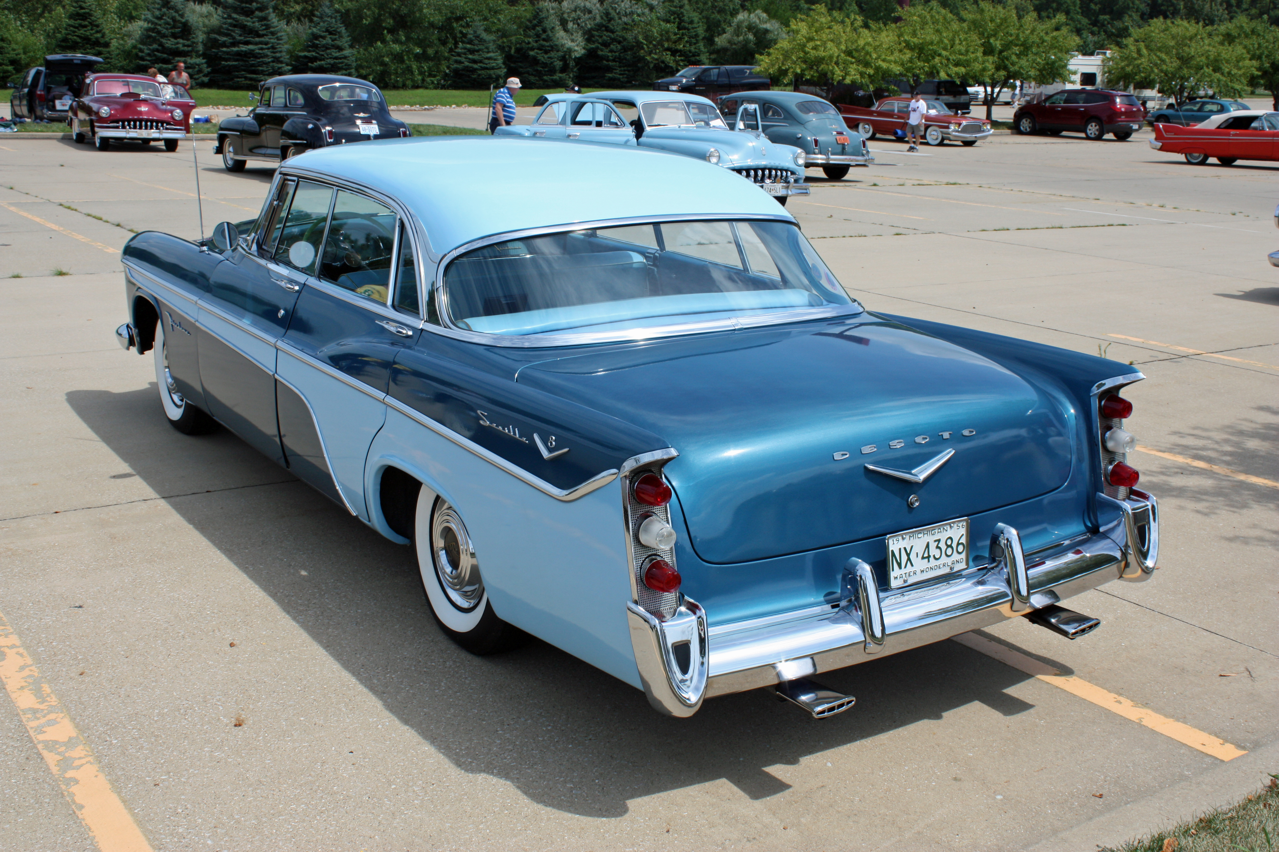 1956 desoto firedome seville 4 door hardtop 1 of 10 - 1938 1974 Gm Valve Cover Oil Filler Breather Cap Fb 7 Nos 1552232