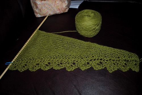 Lacy Chinook Scarf