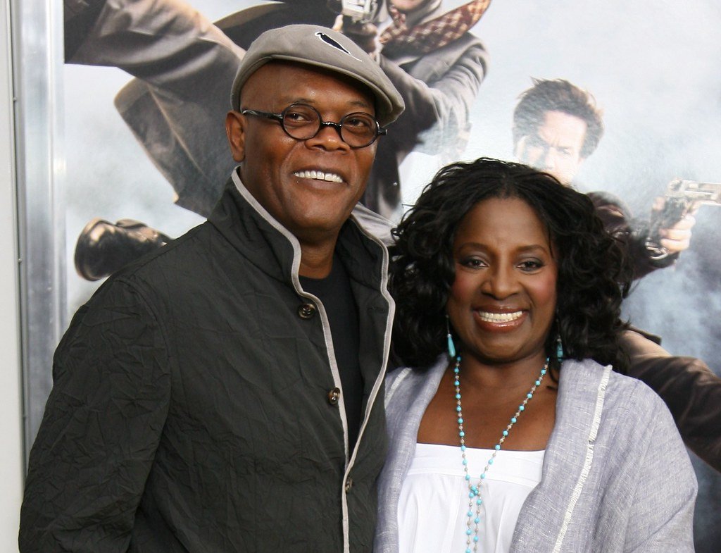 Samuel L. Jackson and LaTanya Richardson, The Other Guys Movie Premiere