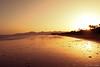 Playa Grande (sarabaras) Tags: contraluz atardecer lanzarote paisaje viajes verano naranja playas puertodelcarmen mareabaja