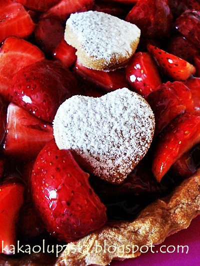 la palette strawberry tart