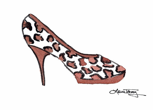 Leopard Print Shoe