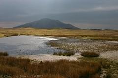 Dark Blue Mass of Eabhal (cazphoto.co.uk) Tags: mountain lake water landscape scotland westernisles canoneos300d outerhebrides northuist eabhal locheuphort