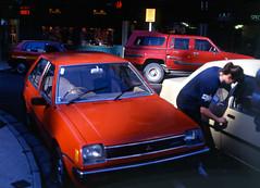 wellington 1992 (travelling-light) Tags: newzealand urban cars wellington 1990s