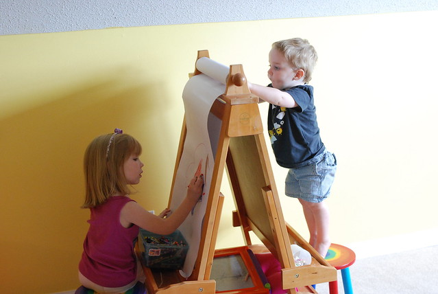 Easel/Jungle Gym