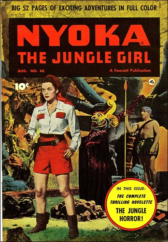 Nyoka the Jungle Girl #46