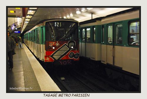 raphael, la joie et le metro