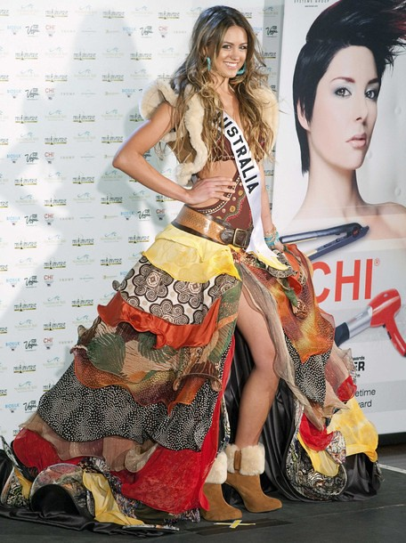 National Costume of Miss Australia