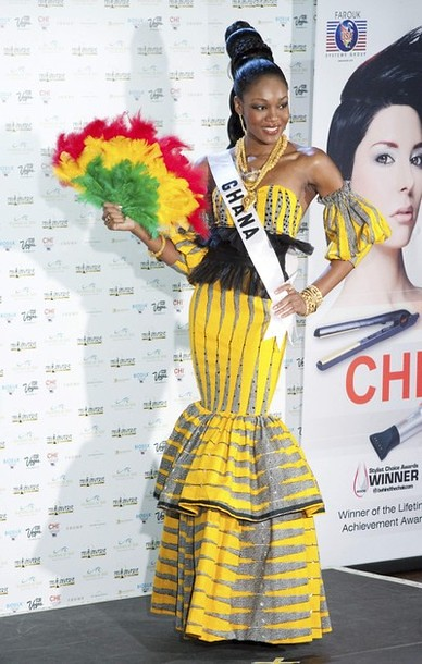 National Costume of Miss Ghana