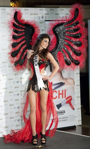 National Costume of Miss Albania