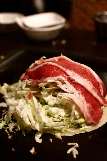 牛肉起司海鮮廣島燒~
