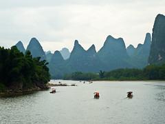 On the Li River (Woodent) Tags: china liriver boat olympus epl1 photocontesttnc10 olympuspenfazuiko3818