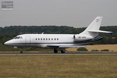 OE-HPH - 209 - Goldeck Flug - Dassault Falcon 2000 - Luton - 100720 - Steven Gray - IMG_8847