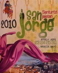 fiestas de san jorge de Santurtzi