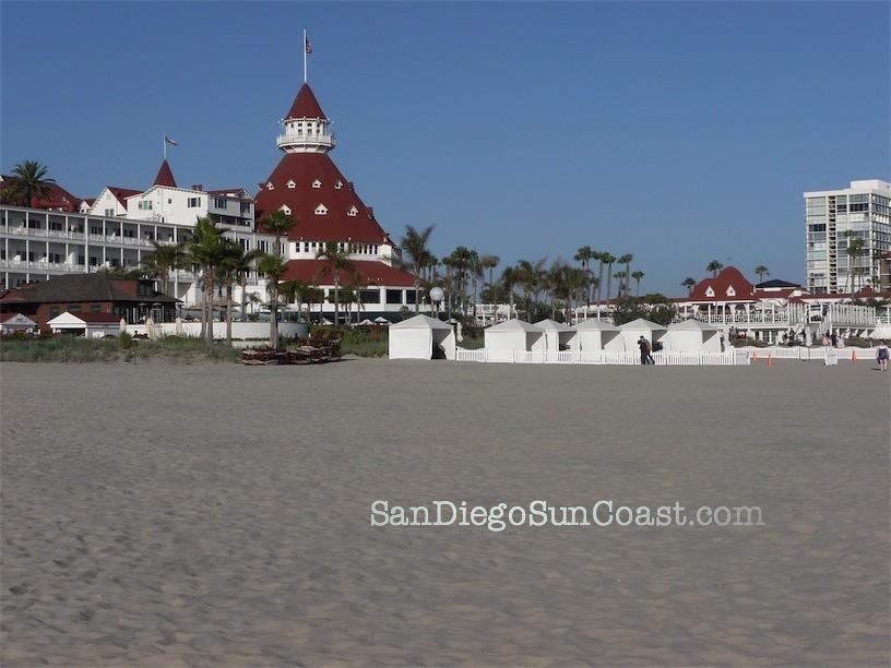 Coronado City Beach | Hotel del Coronado