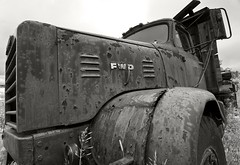 RedRustBucket-BW (CUCKOOPHOTHOG) Tags: birthday camera ontario canada lens photographer events country places roadtrip nd trucks 12 foundobjects filters 06 hitech province metallics gnd hwy144 softedge nikond300 atx116prodx tokinaatx116 ruiferreira