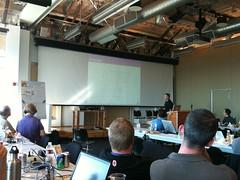 Alan Gates at Hadoop Day