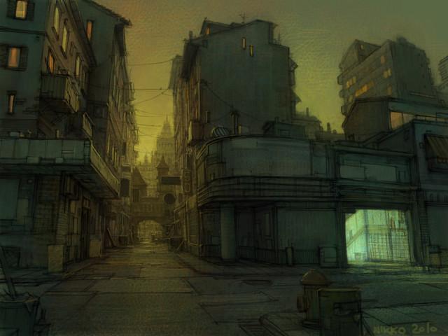 Evening Street 01