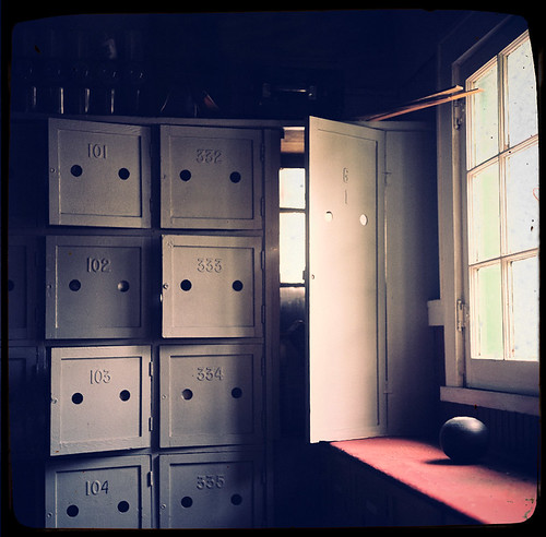 Lawn Bowling Lockers, St. Pete Shuffleboard Club