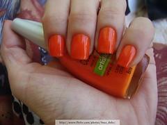 Laranja Cítrico (Colorama) (Luna (Debs)) Tags: orange laranja nails nailpolish unhas esmalte colorama laranjacítrico coleçãoartística