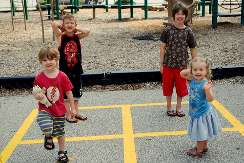the original four square