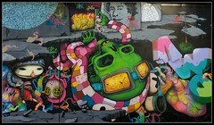 DMV Wall RHS (Romany WG) Tags: party london graffiti jaw block aerosol dmv blo kan 2010 brusk dran meetingofstyles bomk sowat damentalvaporz