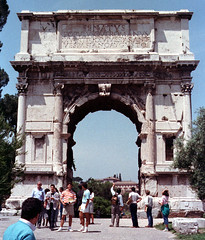 The Arch of Titus (IV) (isawnyu) Tags: rome building history stone architecture ancient arch roman forum masonry civilization titus pleiades:depicts=423025