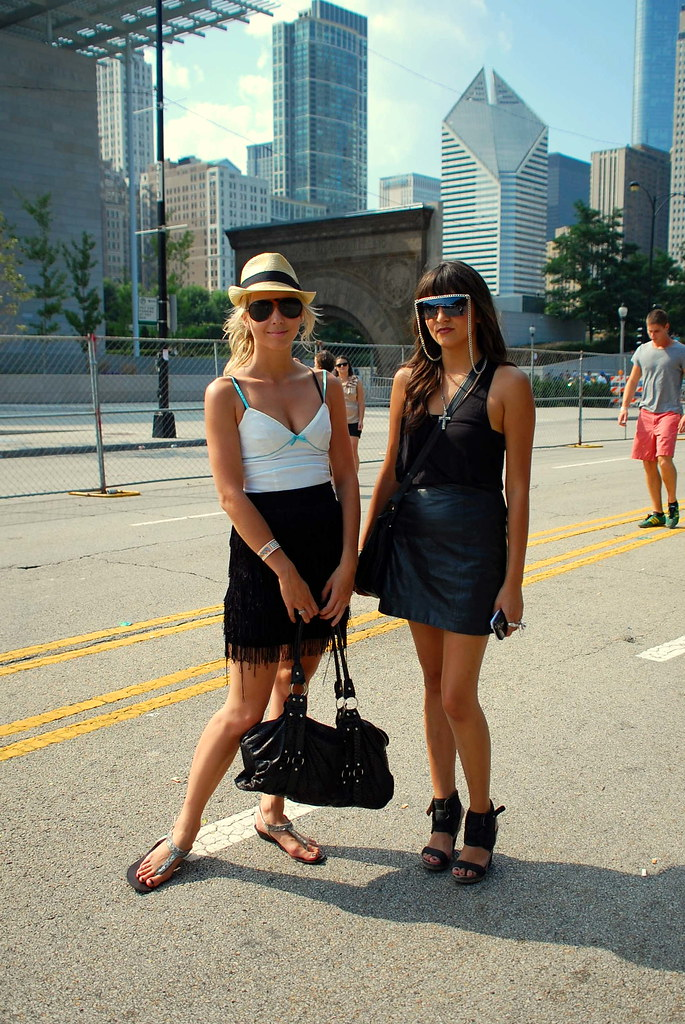 Lollapalooza Festival Fashion Chicago Street Style