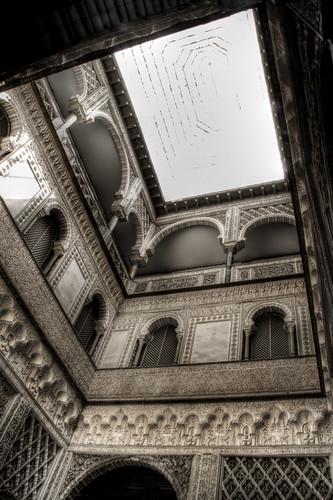 Seville. Patio de la muñecas. Sevilla