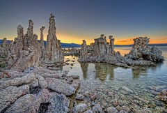 Mono Lake Tufas Sunset (Ellen Yeates) Tags: california sunset vacation sky sun lake water swimming photoshop canon relax landscape photography mono weird ellen rocks texas tour mark south iii bodie monolake 1ds hdr refletion yeates tufas dfine photomatrix sunsetphotography anawesomeshot vivez canonmarkiii1ds ellenyeates mygearandmepremium mygearandmebronze mygearandmesilver mygearandmegold mygearandmeplatinum mygearandmediamond